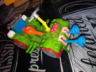 Lote Figuras Tortugas Ninja, Cazafantasmas