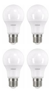 Lámparas Led Osram 9w = 75w Luz Día/fría Pack X4