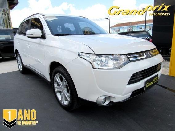 Outlander 2014 2.0 16v Gasolina 4p Automática Branca Compl
