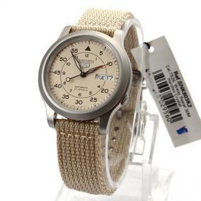 Relógio Seiko 5 Estilo Militar Automático Snk803 K2 Yy