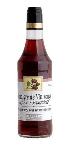 Imagem 1 de 1 de Vinagre Francês De Vinho Com Framboesa Beaufor 500ml