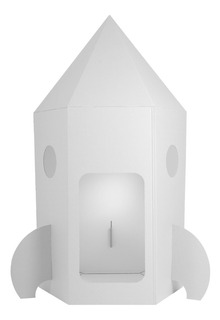 Cohete Espacial De Cartón Mamut Cardboard Toys
