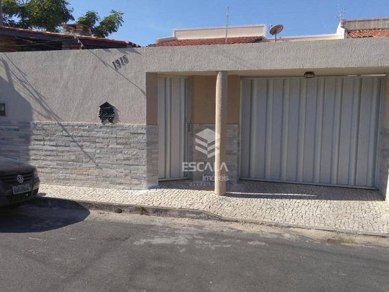 Casa Plana Com 3 Quartos À Venda, 120 M² , Quintal, Financia - Edson Queiroz - Fortaleza/ce - Ca0334
