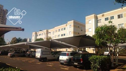 Apartamento Com 2 Dormitórios À Venda, 48 M² -  Lagoinha - Ribeirão Preto/sp - Ap3140