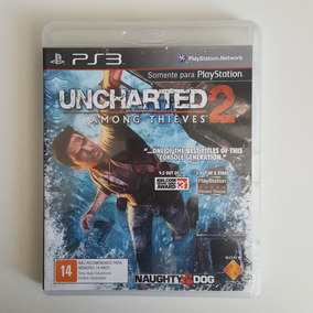Uncharted 2 Ps3 Mídia Física