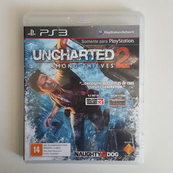 Uncharted 2 Ps3 Mídia Física