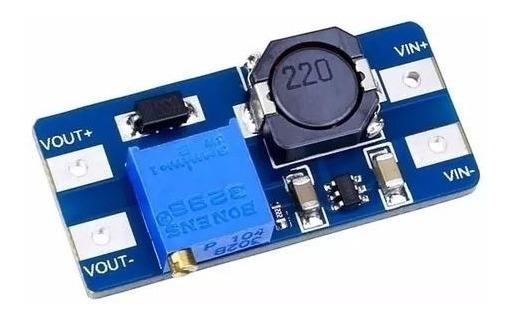 Conversor Regulador De Tensão Step Up Mt3608