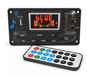 Placa Decodificador Mp3 Led /usb/sd/bluetooth/12v/lançamento