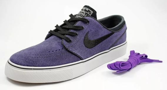 Tênis Nike Sb Stefan Janoski Hyper Grape 7394 Original