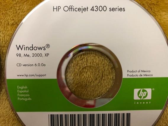 Cd Instalação Impressora Hp Officejet 4300 Series - Windows
