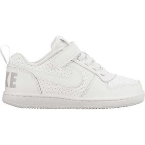 Nike Court Borough Low (psv) 870025-100 Niña-niño Original