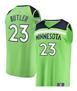 Camisa Nba Fanatics Tam P Minnesota Timberwolves Butler 23