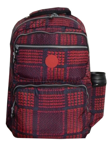 Mochila Feminina Notebook Juvenil Adulta Facul Escolar M3691