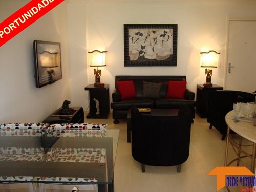 Imagem 1 de 18 de Vende - Vila Olimpia Apto 51.00m² -01 Dorm. 01 Vaga De Garagem 1º Andar - Totalmente Mobiliado - 1430ap - 69873359