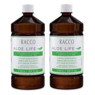 Aloe Life Suco De Aloe Vera Racco 1lt Babosa 1 Unidade