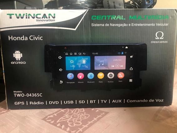 Central Multimídia Civic G10 2016/2017 2017 2018