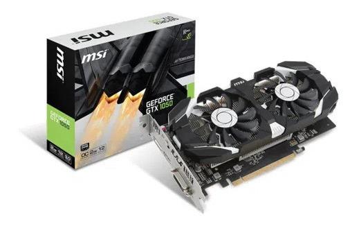 Placa Video Nvidia Geforce Gtx 1050 Ti 2gb Oc Msi