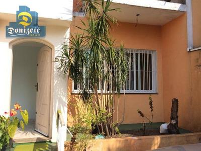Casa Residencial À Venda, Santa Maria, Santo André. - Ca0656