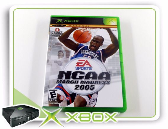 Xbox Ncaa March Madness 2005 Original Xbox Clássico Ntsc
