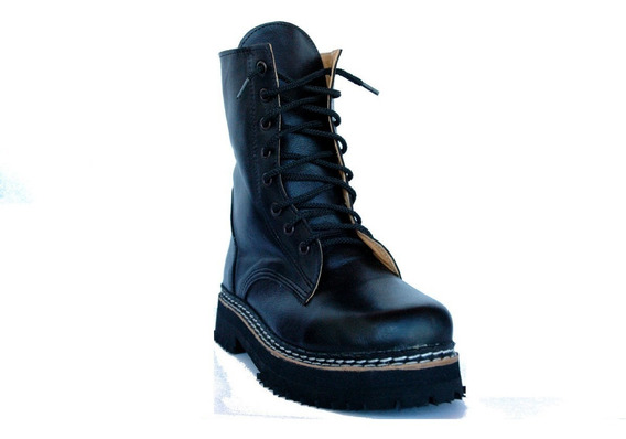 Borcegos Dirty Boots T37a40 C. Media Base Doble Mujer Hombre