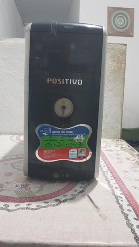 Cpu Positivo - Monitor Samsung + Teclado E Mouse Ps2