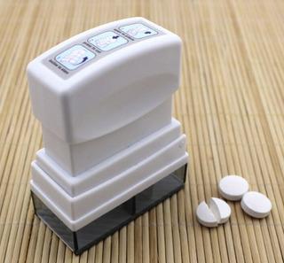 Cortador De Pastillas Pastillero Dividir Almacenar Medico