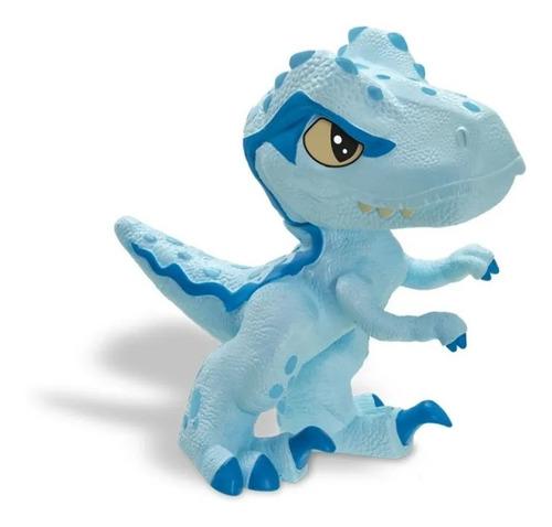 Imagem 1 de 4 de Dino Jurassic World Blue Dinos Baby Universal Velociraptor