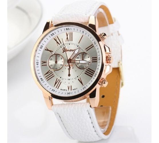Relógio Feminino Geneva, Branco