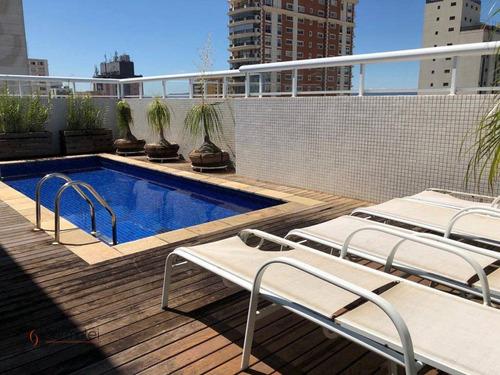 Cobertura Duplex - 847 M²- 3 Suítes- - Pacaembu - São Paulo/sp - Co0024