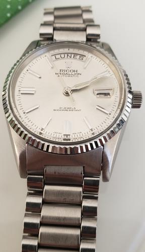 Relógio Antigo Ricoh MedallionAutomatico