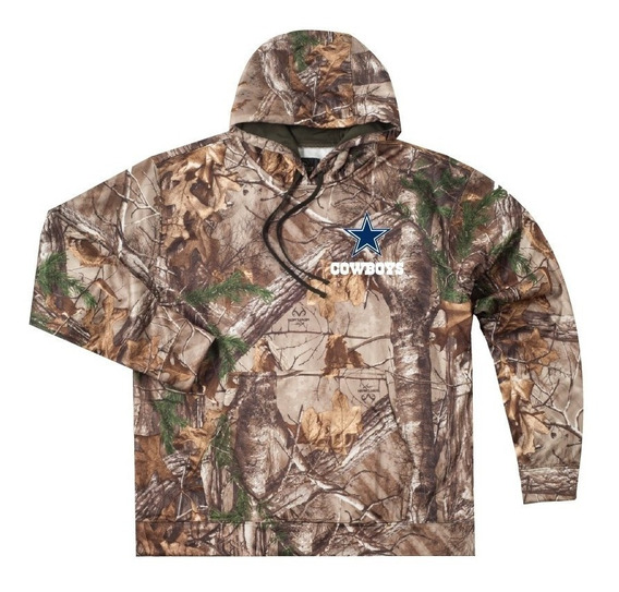 Sudadera Realtree Xtra Camuflaje Dallas Cowboys