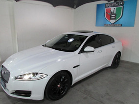 Jaguar 2014 Xf Premium Luxury 240 Cv Branco Com Bege 17milk