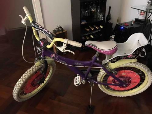 Bicicleta Niña Rodado 20 X-terra Mod Rock Star