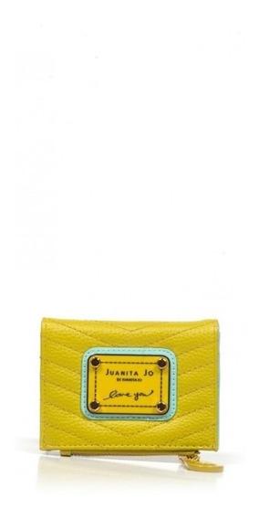 Billetera Juanita Jo Brand Mini Varios Colores 30044 I20