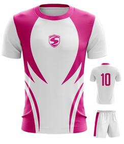 Camisa Time De Futebol Dry Fit - Cod. 004