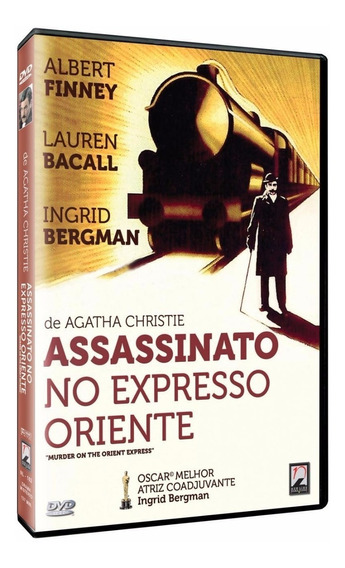 Assassinato No Expresso Oriente - Dvd - Albert Finney