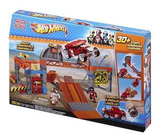 Mega Bloks Hot Wheels Mega Pista De Pruebas