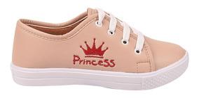 Tenis Casual Infantil Feminino Menina Princesa Tn0506/2019