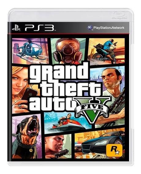 Jogo Grand Theft Auto V - Gta 5 - Ps3 - Original - Usado