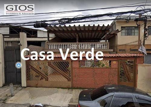 Casa À Venda, 190 M² Por R$ 604.000,00 - Casa Verde (zona Norte) - São Paulo/sp - Ca0118