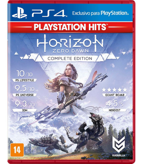Horizon Zero Dawn Complete Edition Ps4 Midia Fisica 100% Br