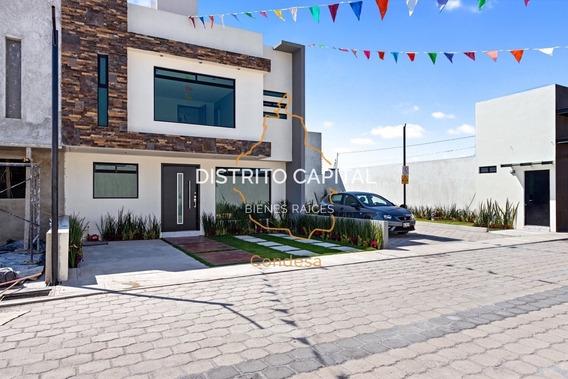 Casa En Venta En Residencial Meridean, San Mateo Atenco, Edo