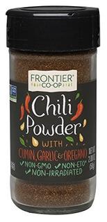 Polvo De Chile Frontier Seasoning Blends, Botella De 2.08