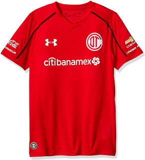 Jersey Aficionado Niño Toluca Local Under Armour 13-14 Años