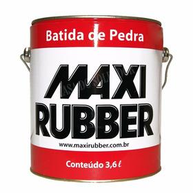 Batida De Pedra Preto 3,6l Emborrachamento Maxi Rubber