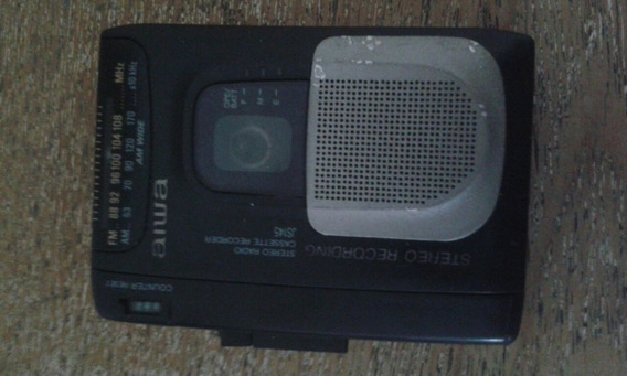 Radio Aiwa J S 145 Stereo Gravador Funcionando