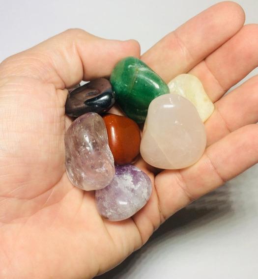 7 Pedras Naturais Dos Chakras Cristais Variados P/ Energia.