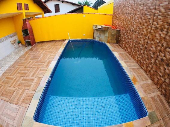 Casa Com Piscina Na Praia R$ 275 Mil Ultima Unidade