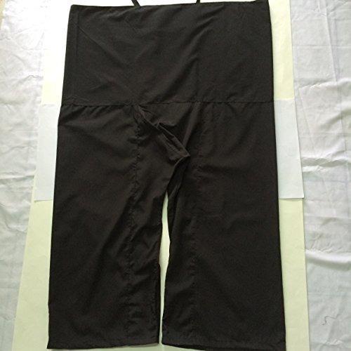 Pantalones De Yoga Negro Thai Pantalones Thai Masaje Pantalo Mercado Libre