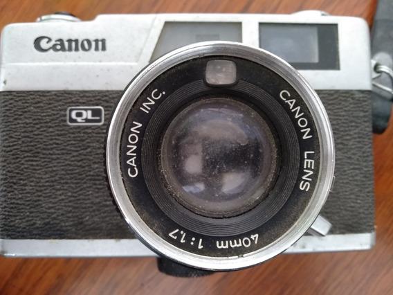 Camera Canonet Ql17 Da Canon